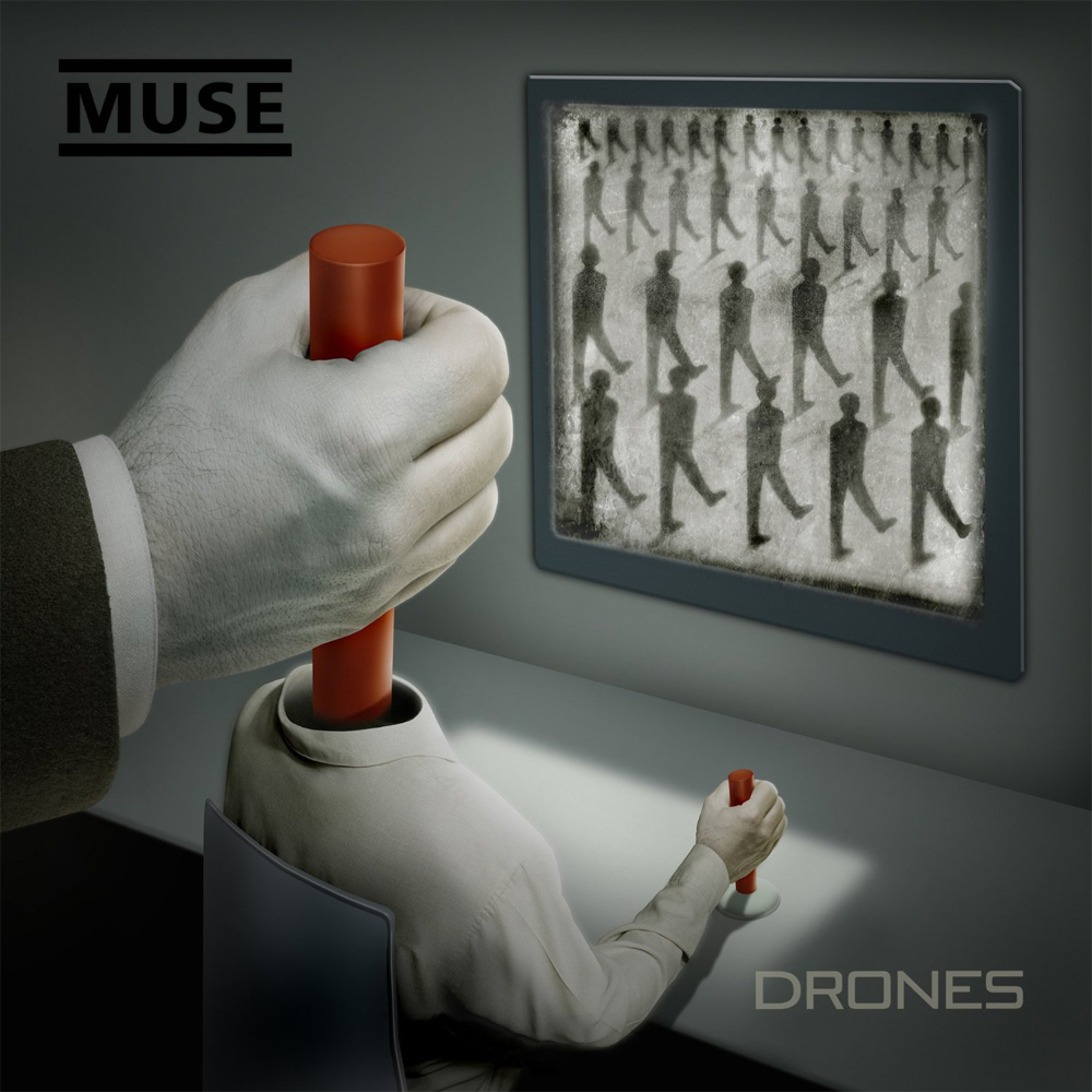 """Muse: """"Drones""""-Cover"""