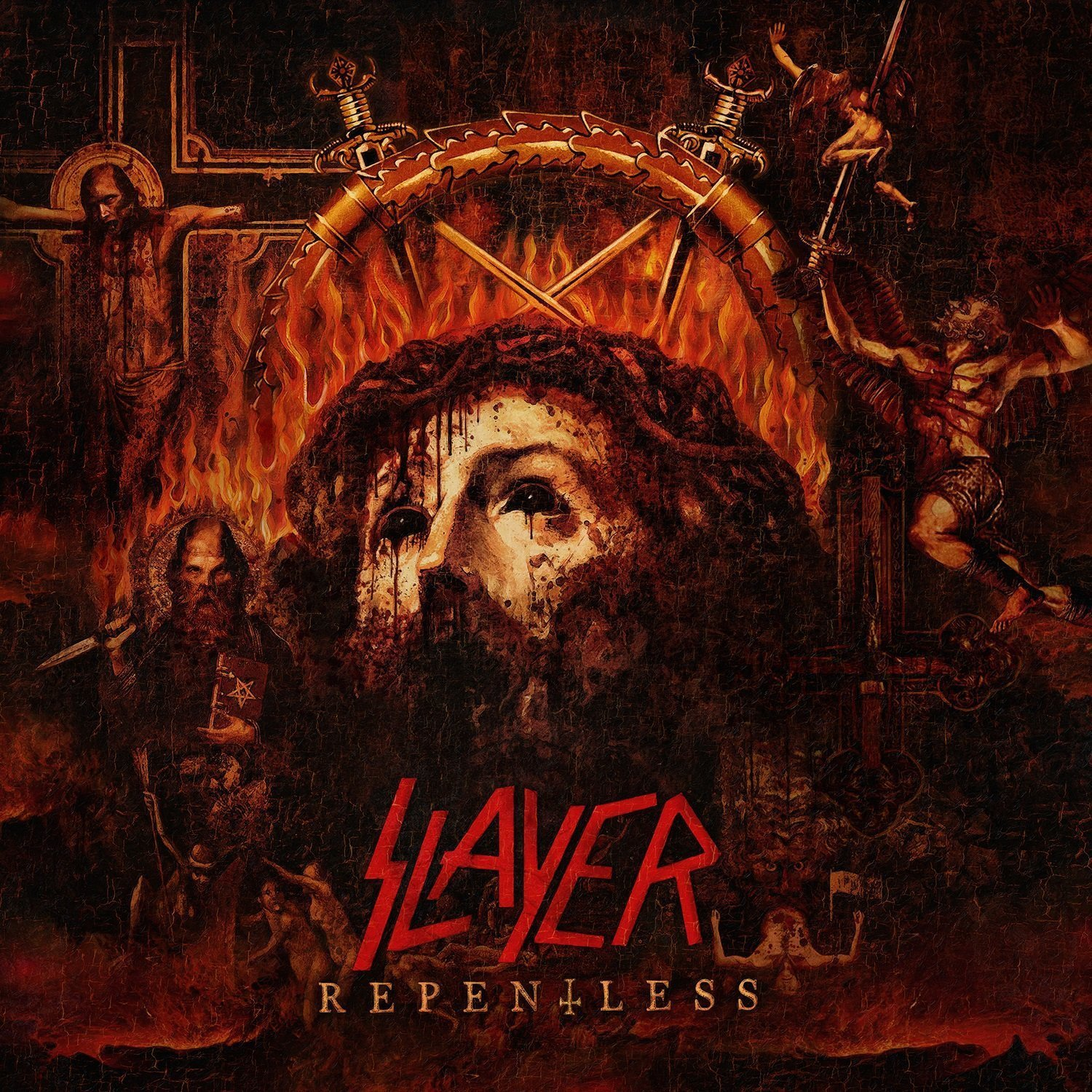 "Neue Slayer-Platte: ""Repentless""-Cover"