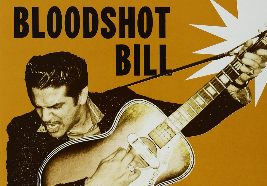 "Bloodshot Bill - ""Thunder and Lightning""-Cover"