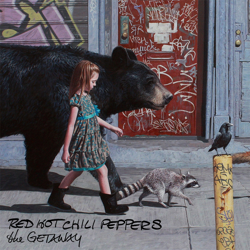"""Red Hot Chili Peppers """"The Getaway"""" - Plattencover"""