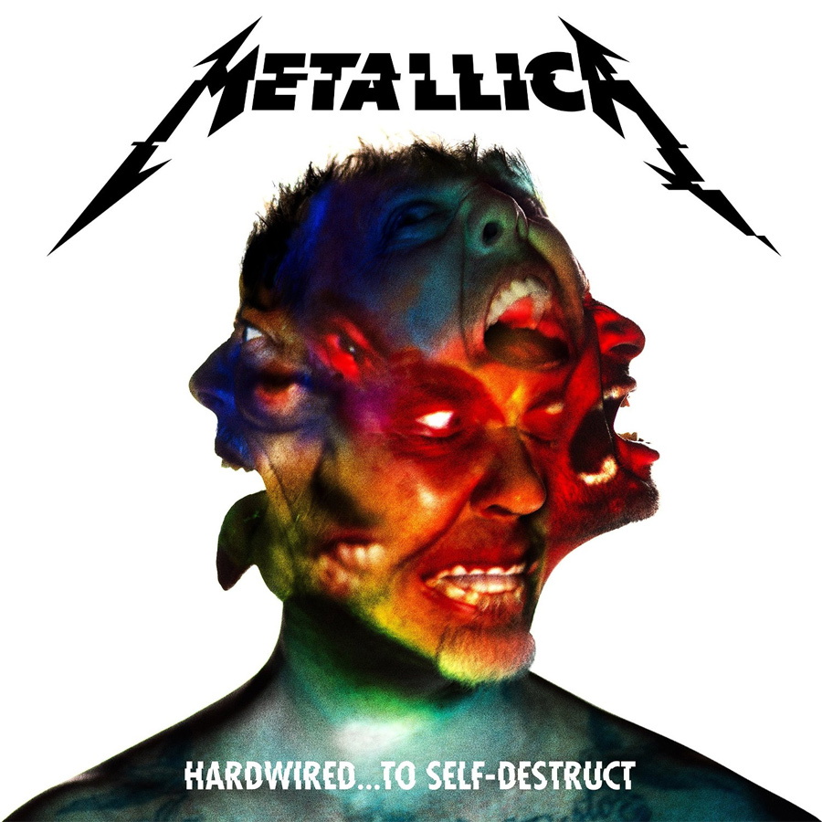 "Das Cover von Metallicas neue Platte ""Hardwired...To Self-Destruct"""