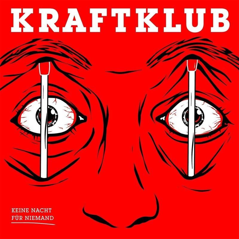"""Kraftklub: """"Keine Nacht für niemand""""-Cover"""