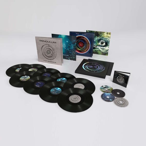 Pendulum: Deluxe Box Set umfasst alle 4 Alben auf Vinyl