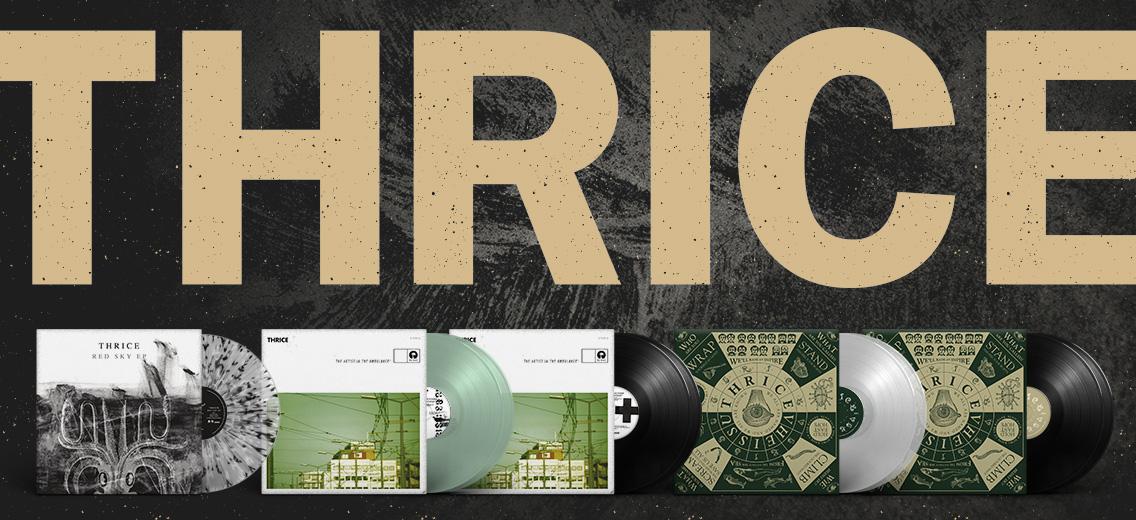 """Thrice: Vinyl-Reissues von """"The Artist In The Ambulance"""" und """"Vheissu"""" geplant"""