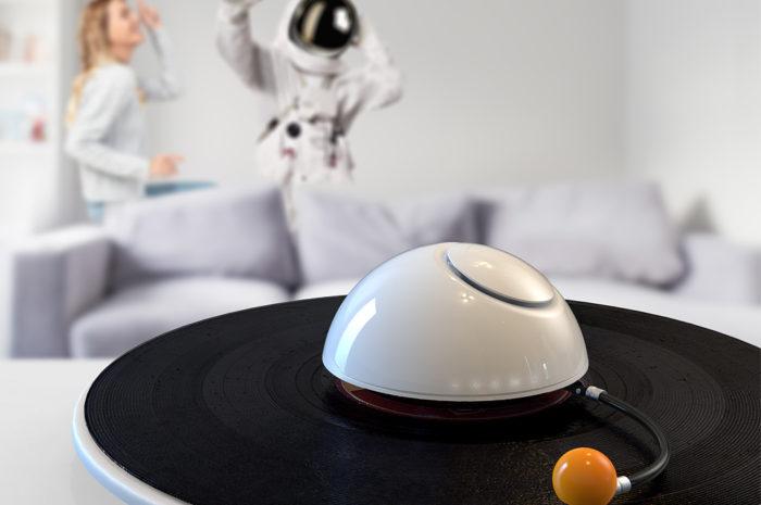 Tüp entwirft genialen Turntable, der aussieht wie ein Planet