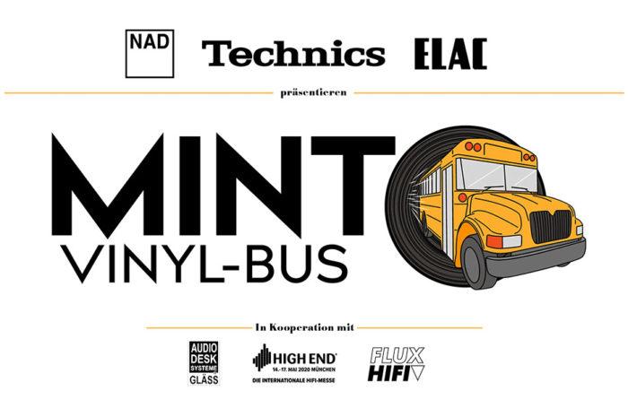 MINT Vinyl-Bus Tour: Mama, der Mann mit dem Vinyl ist da!