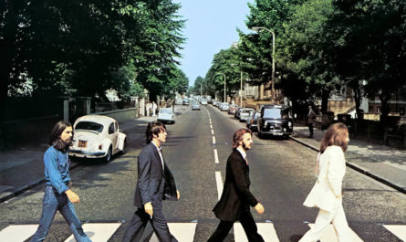 "Cover von ""Abbey Road"" von den Beatles"